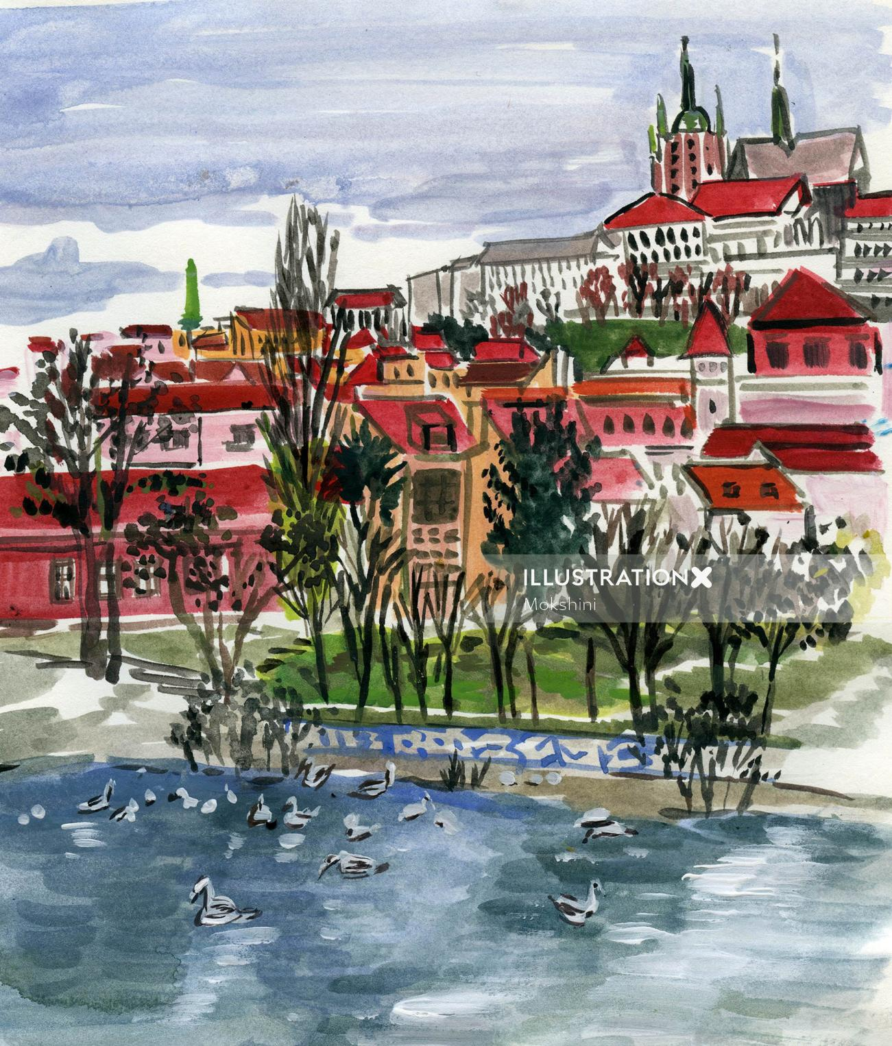 Sketchbook: Prague