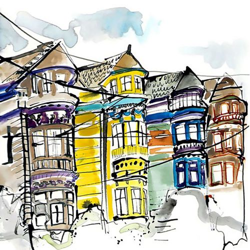 Sketchbook: San Fransisco