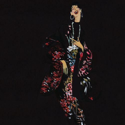 Mokshini Fashion Illustrator from USA