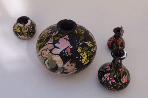 Illustration de la céramique par Mokshini