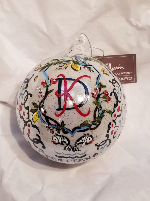 Hand painted ornament illustration