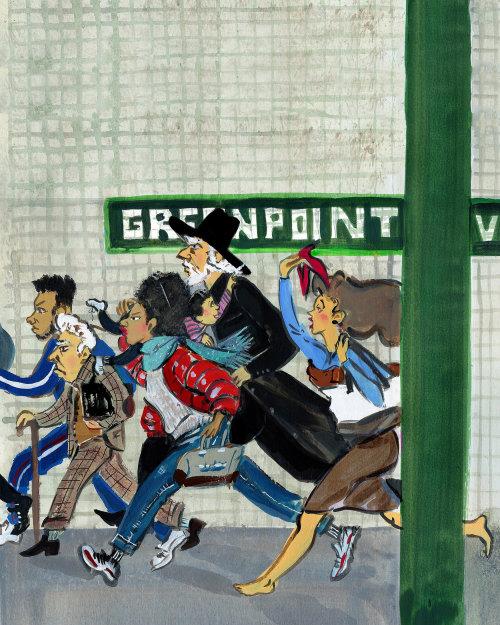 Illustration éditoriale des pitreries du train G