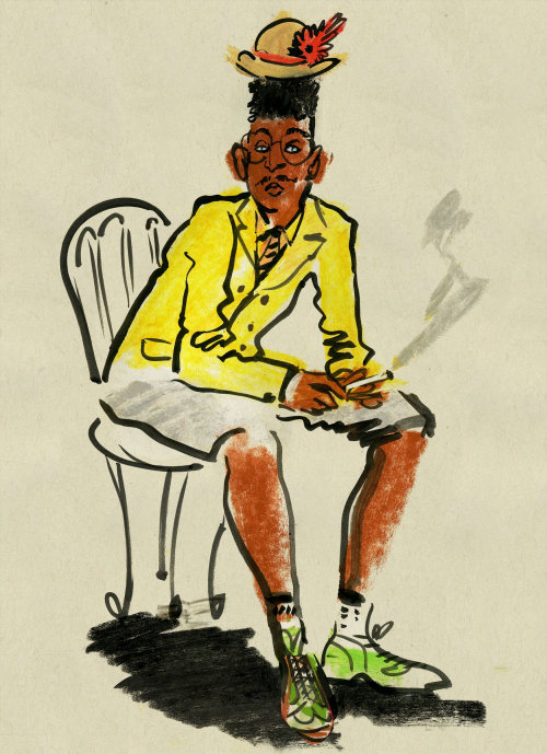 Live Drawing: Men's Fashion Week