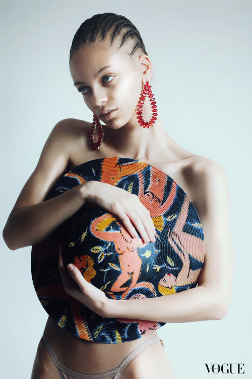 Illustration pour Vogue Italia. par Mokshini