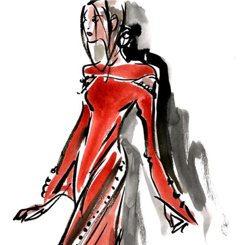 Mokshini Live Event Drawing Fashion
