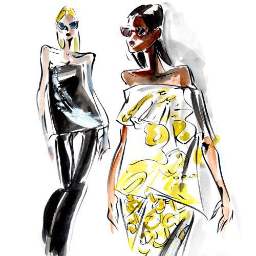 Mokshini Live Event Drawing Fashion
