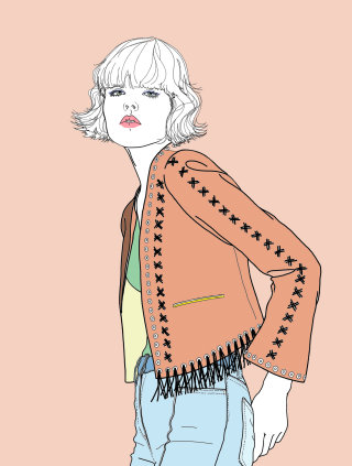 masterclass by Montana Forbes in fashion illustration