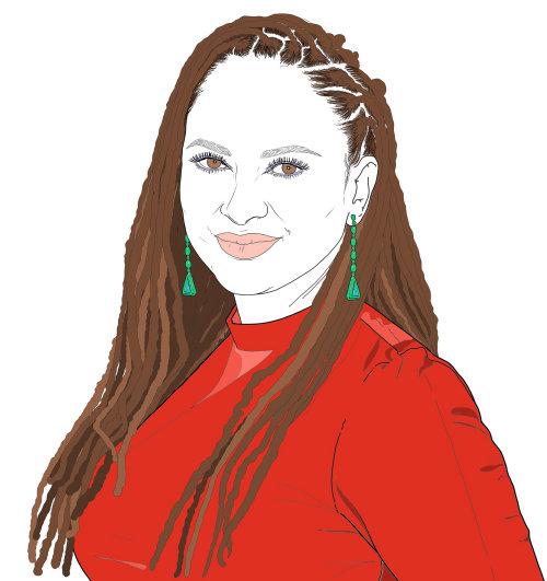 艾娃·杜弗奈(Ava Duvernay)的肖像