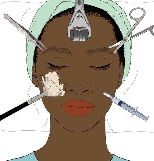 美容面部护理