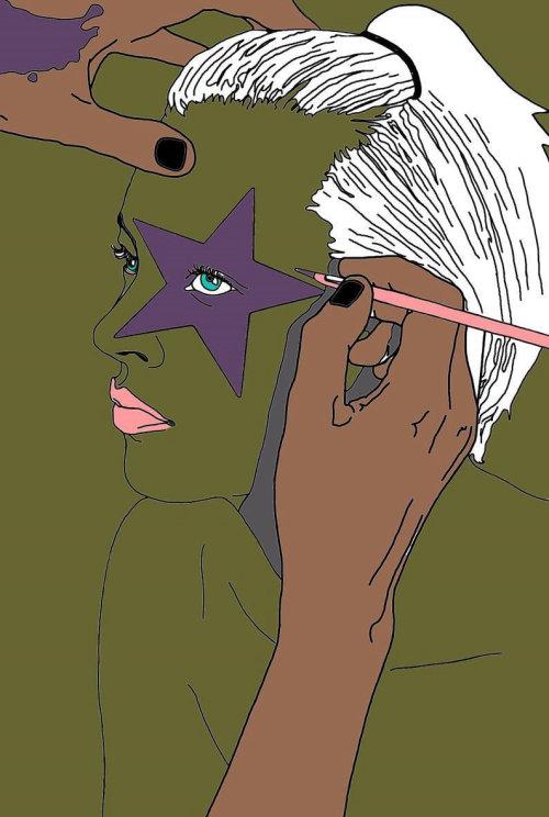 明星化妆插图蒙大拿州福布斯