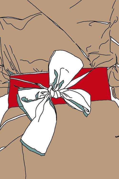 蒙大拿州福布斯的皮带风衣插图