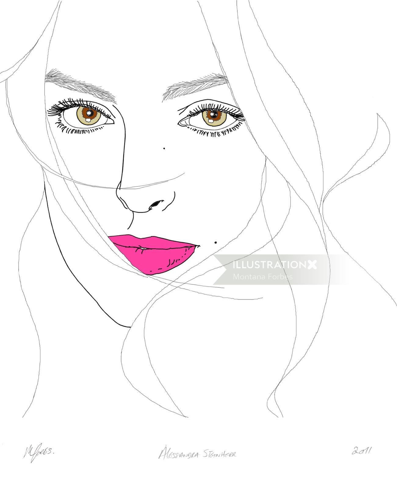 Portrait of Alessandra Steinherr