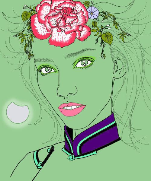 Resultado de imagen de sostenible hair conceptual ilustration