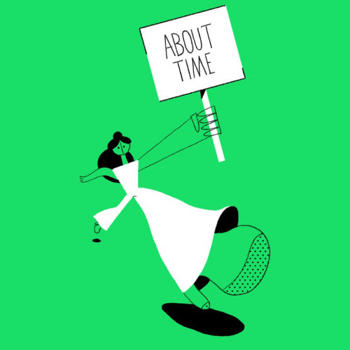 Gif Animation about time by Motion club
