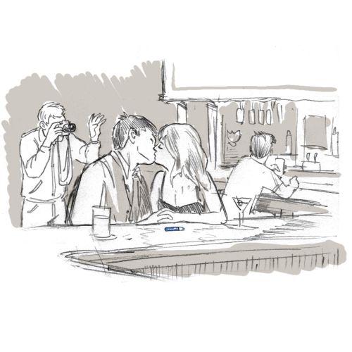 Kissbar Line illustration