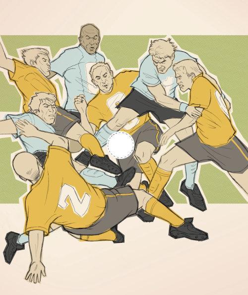 Jogadores de futebol