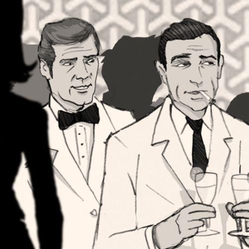 Character design of James Bonds
