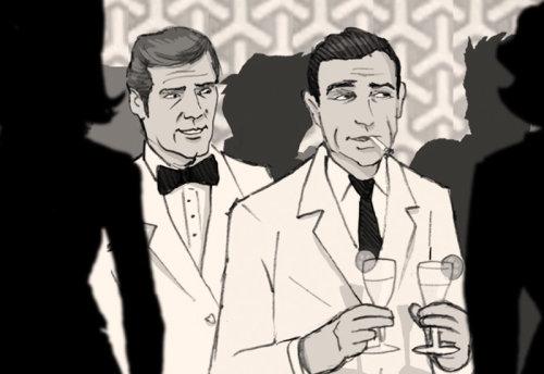 Design de personagens de James Bonds