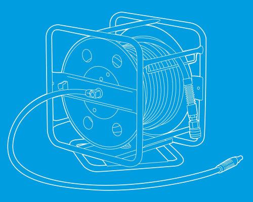Desenho técnico de impressão azul