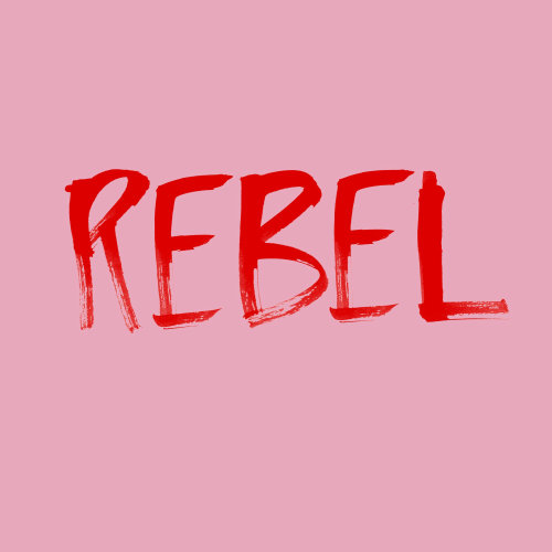 Lettrage Rebel