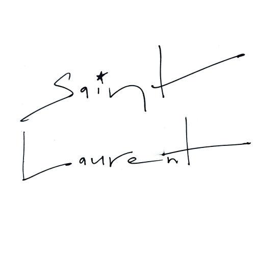 Lettering Saint Laurent