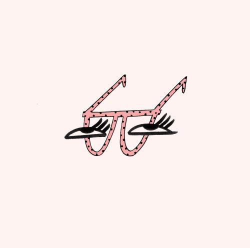 Graphic eye glasses
