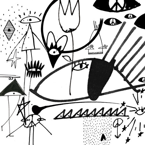 Black and White graphic art