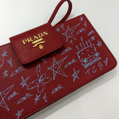 Prada bag scribble