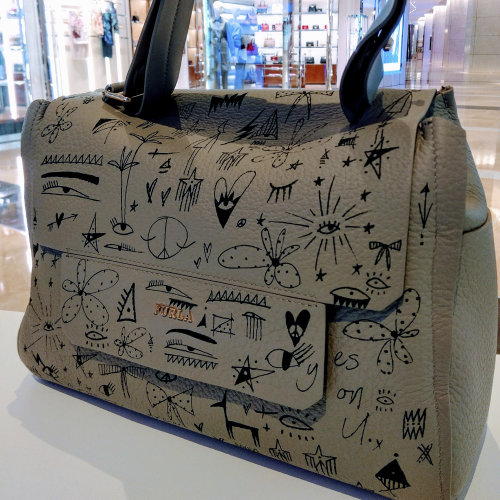Graphic art on bag