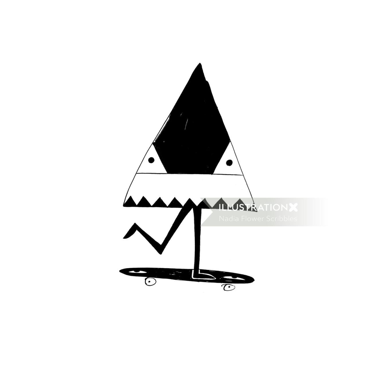 Pop Running triangle