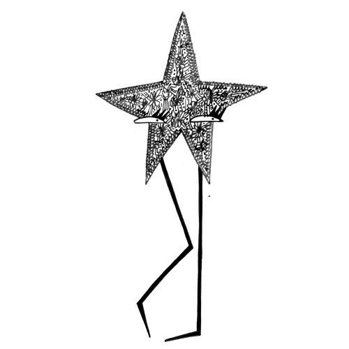 Graphic star shape