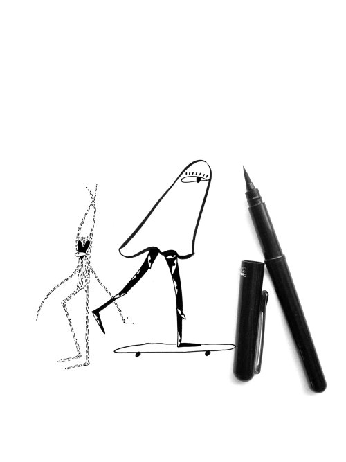 character design using pen