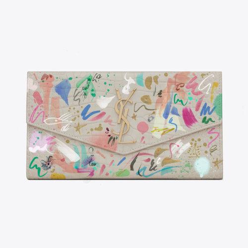 Decorative art on envelope
