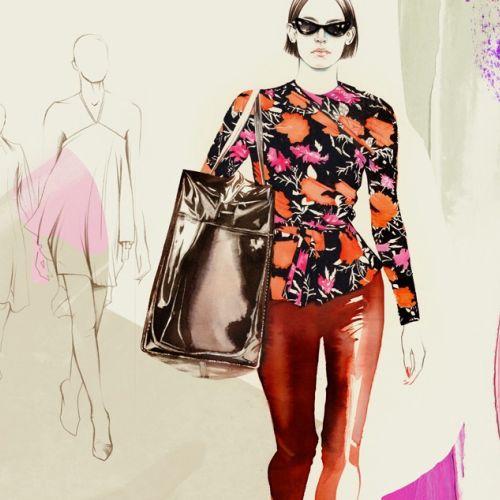 Natalia Sanabria Ilustrador internacional de moda e beleza. Costa Rica