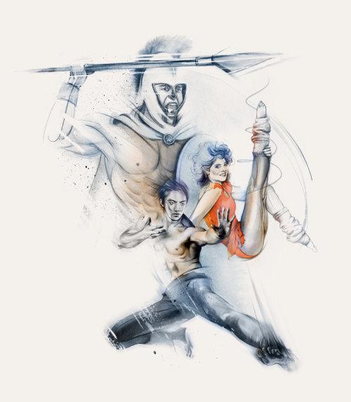 Athletics illustration by Natalia Sanabria
