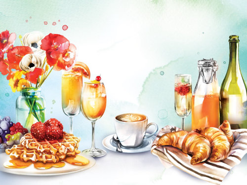 Illustration of Brunch