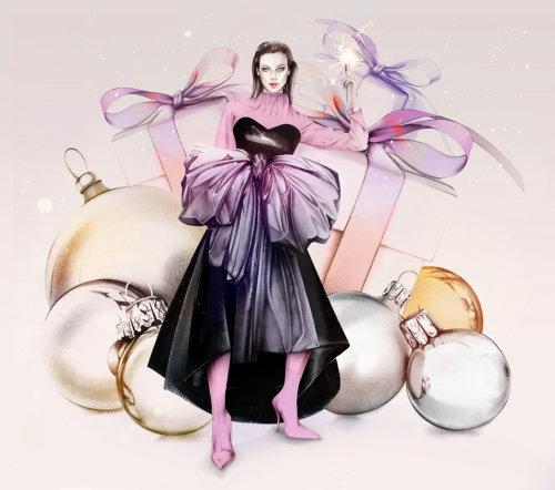 Photorealism of fashion woman