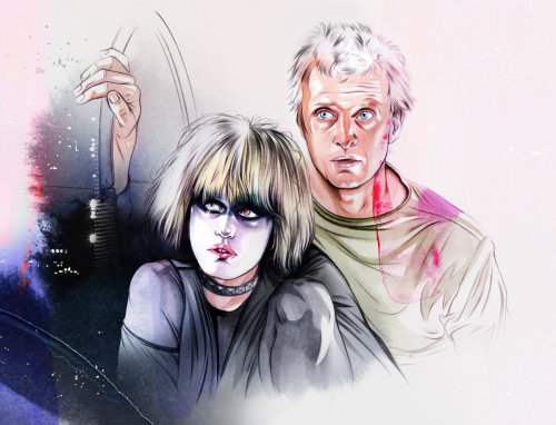 Blade Runner 2049 movie characters art