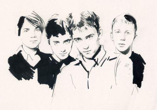Blur boys portraits