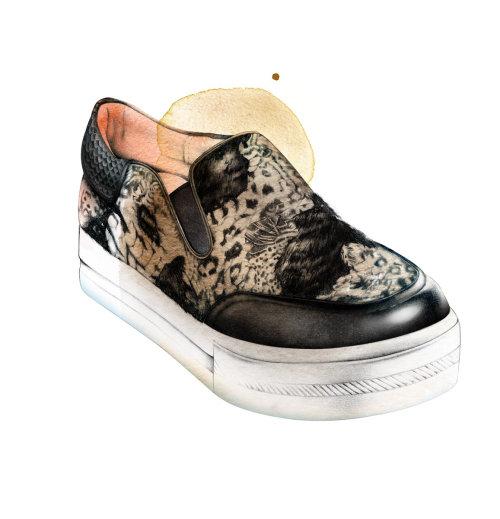 鞋子的图形设计