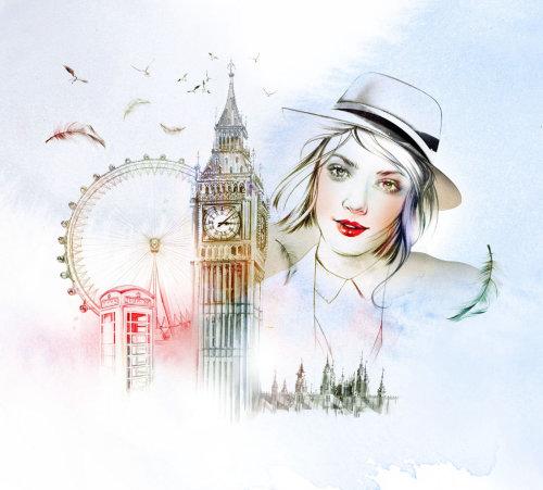 Cityscape illustration by Natalia Sanabria