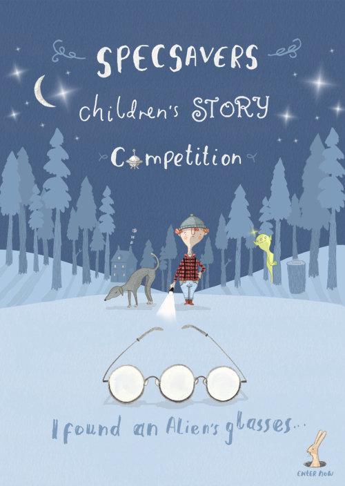 Capa do livro da competição de histórias infantis Specsavers