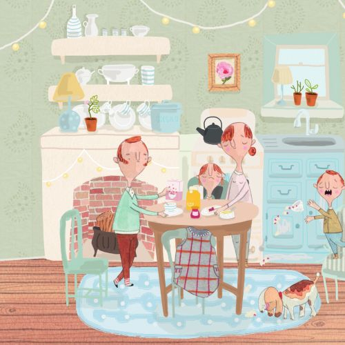 Natalie Kilany International children's book illustrator. UK