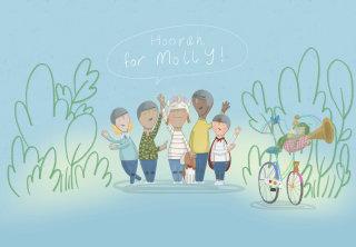 Hoorah for Molly illustration