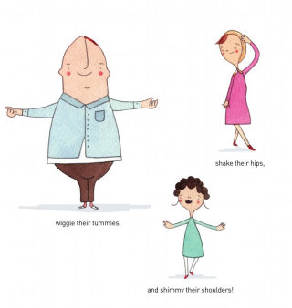 Artwork of Dancing People