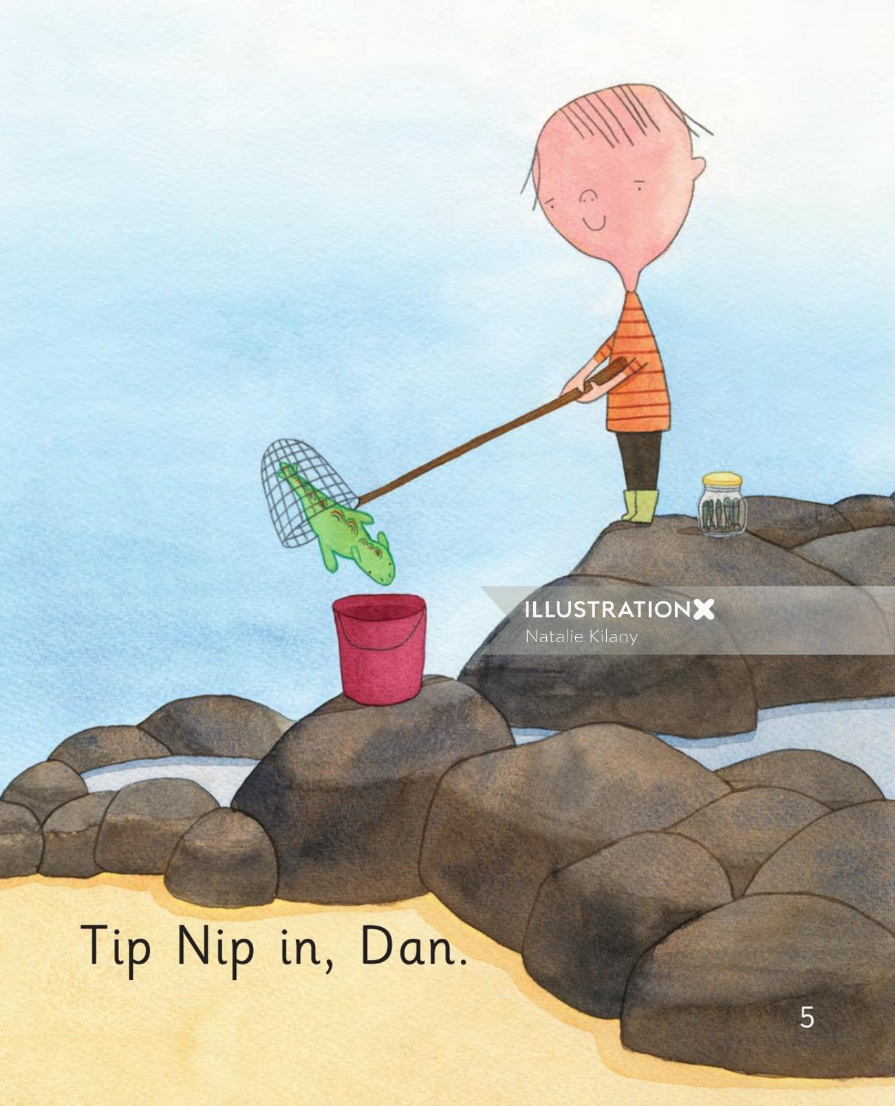 Dad Nips by Natalie Kilany