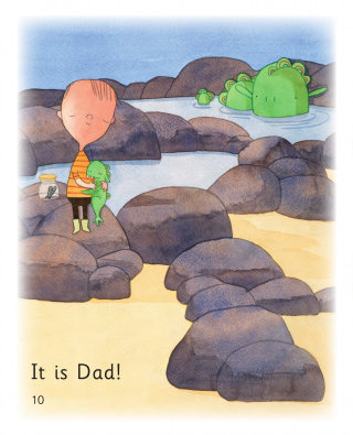 Book for children Dad Nips
