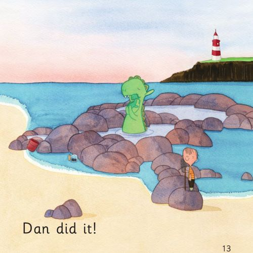 Dad nips book for children artwork