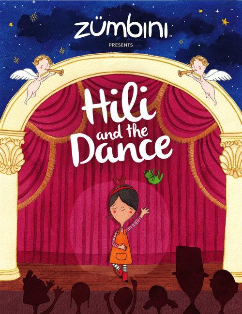 Oeuvre éditoriale Hili et la danse