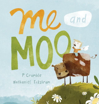 Me & Moo Book Cover Design
